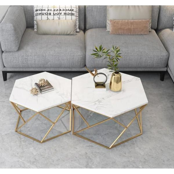 TMDT 17 Marble Coffee Table