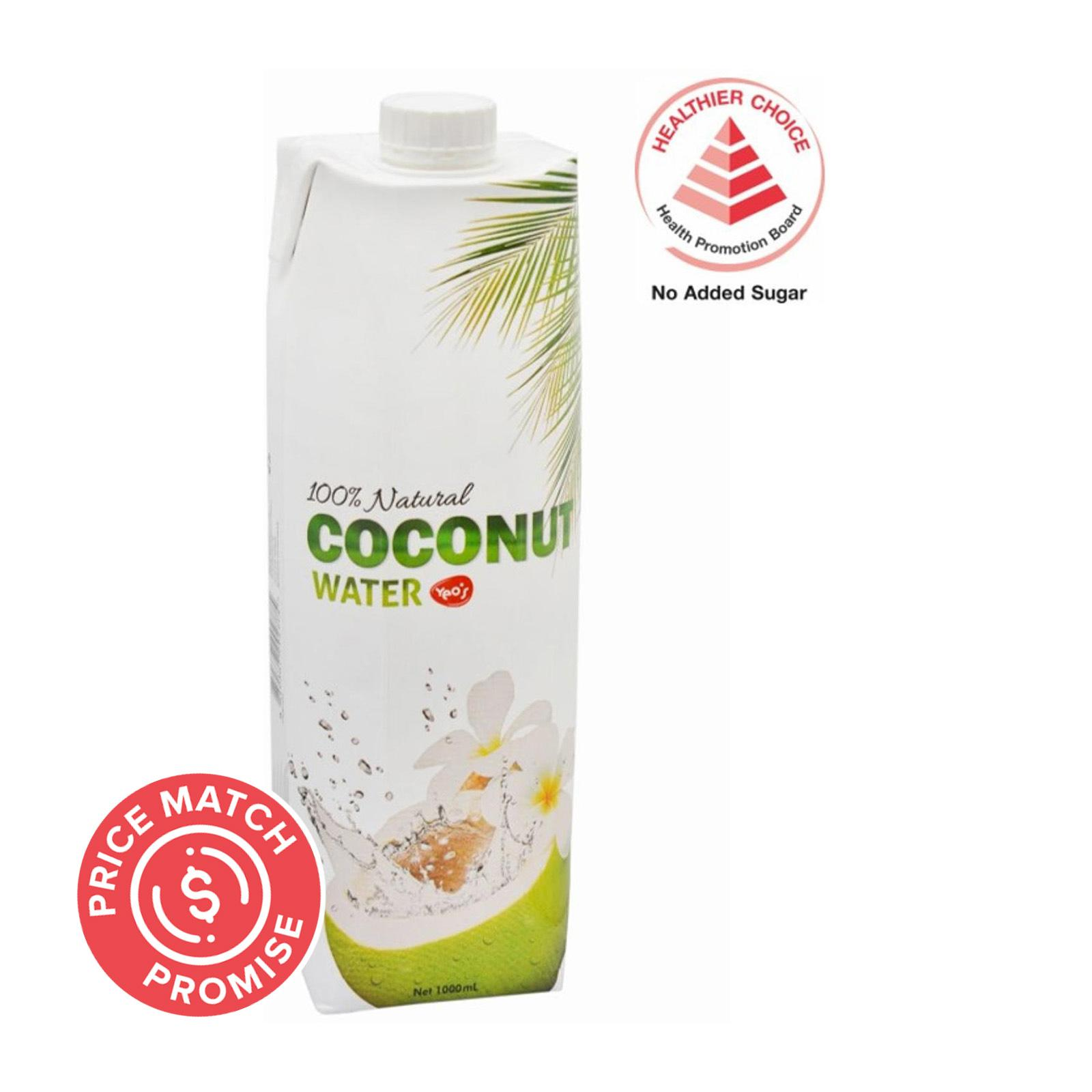 YEO'S 100% Natural Coconut Water 1L