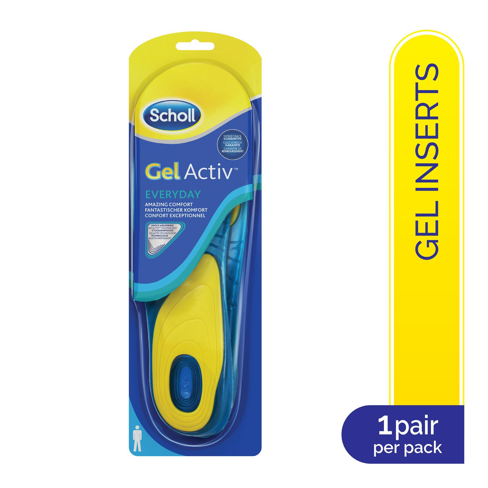 Scholl GelActiv Insoles - Everday Male