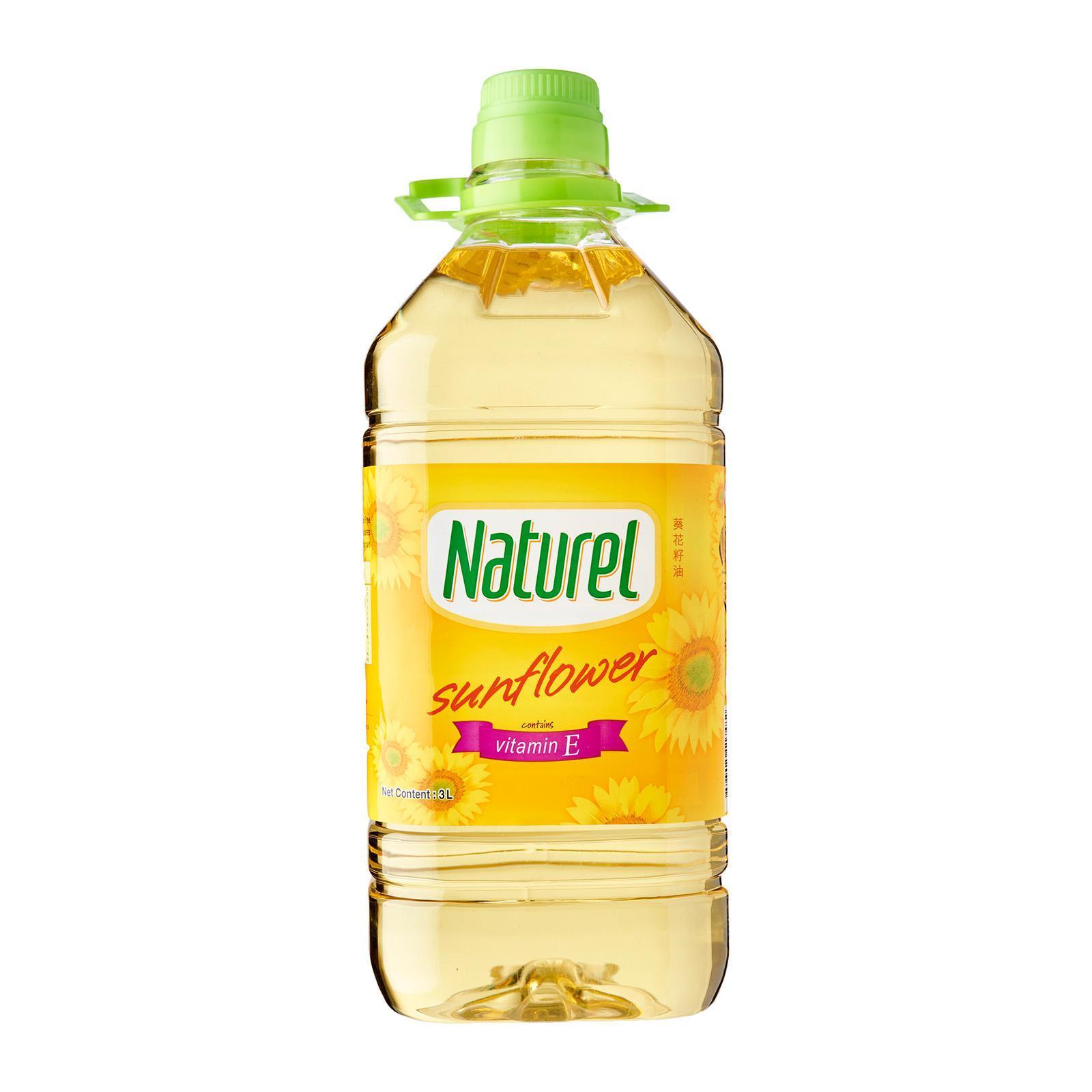 Naturel Sunflower Oil By Redmart.