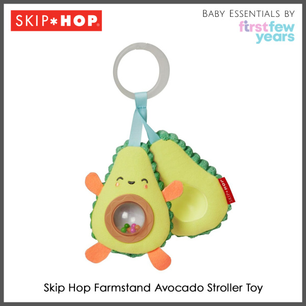 Skip Hop Farmstand Avocado Stroller Toy Singapore