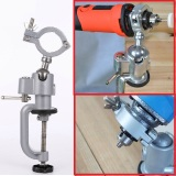 Review Electric Grinder Bench Vise Bracket Holder Hanger Electric Drill Stand Rack Stand Clamp Electric Grinding Wheel Ht387 On China