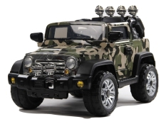 Buy Electric Ride On Car Jeep Camouflage Not Specified
