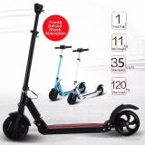 Sale Electric Scooter Light Weight E Lite Scooter Foldable And Light Weight Electric Skate Scooter White Genconnect Pte Ltd Branded