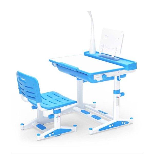 Ergonomic Table for Children NO LED LAMP (80cm x 60cm) - Blue