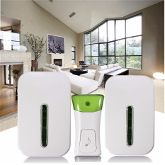 Price Excellent Quality Wireless Double Smart Home Door Bell System Plug In Chime 120M Range 36 Melodies Oem Online