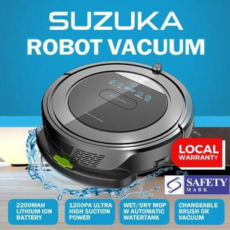 [Local Warranty] Suzuka 5-in 1 Vacuum and Mopping Robot Singapore