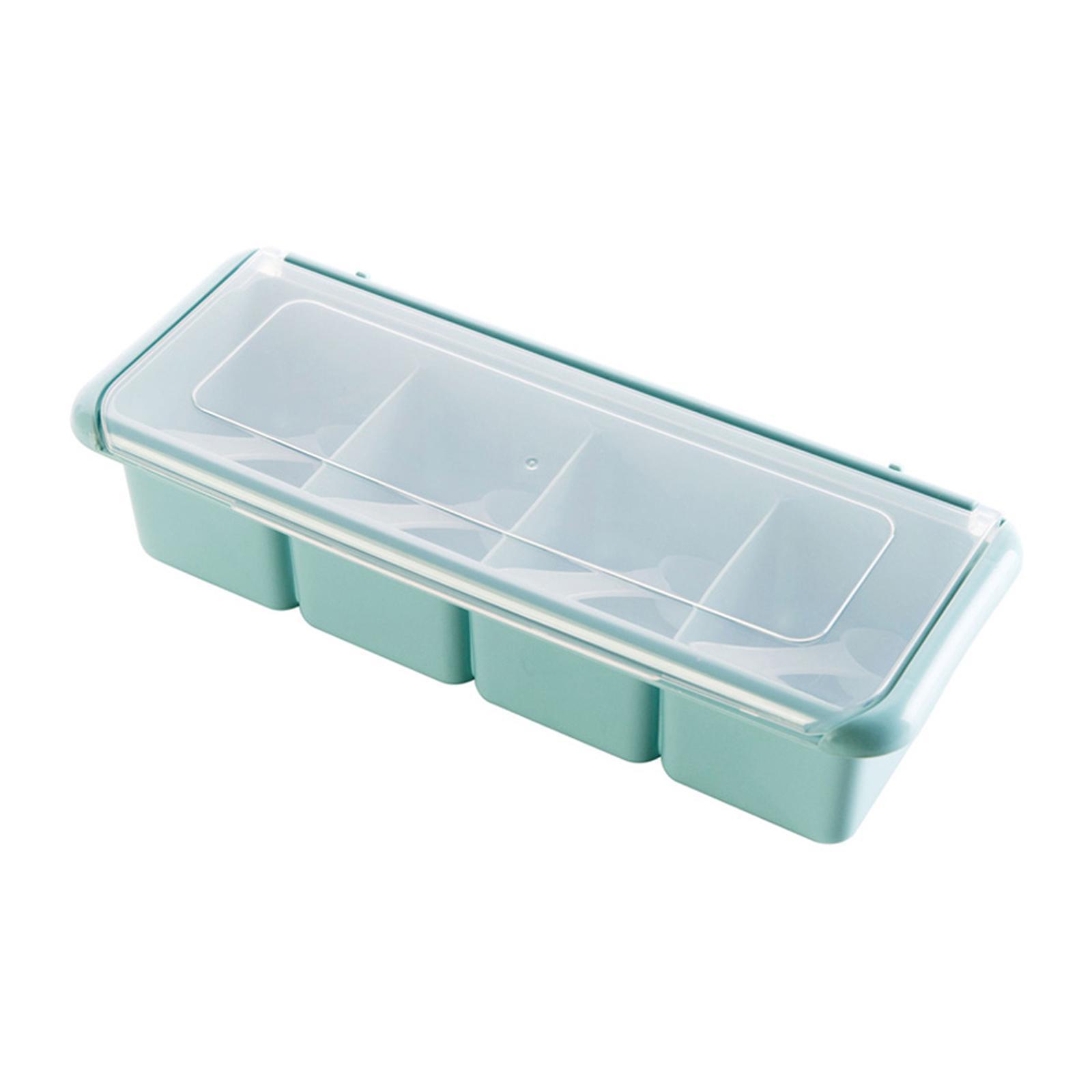 Mason Market Condiment Container Box - (4 Compartments)