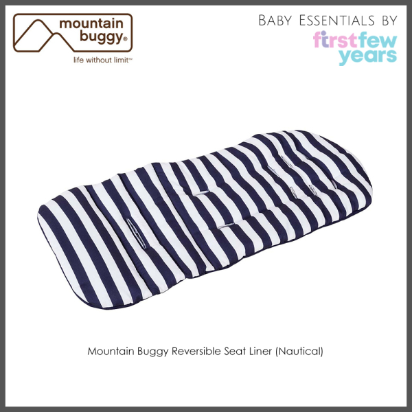 Mountain Buggy Reversible Seat Liner (Nautical) from Authorised Retailer Singapore