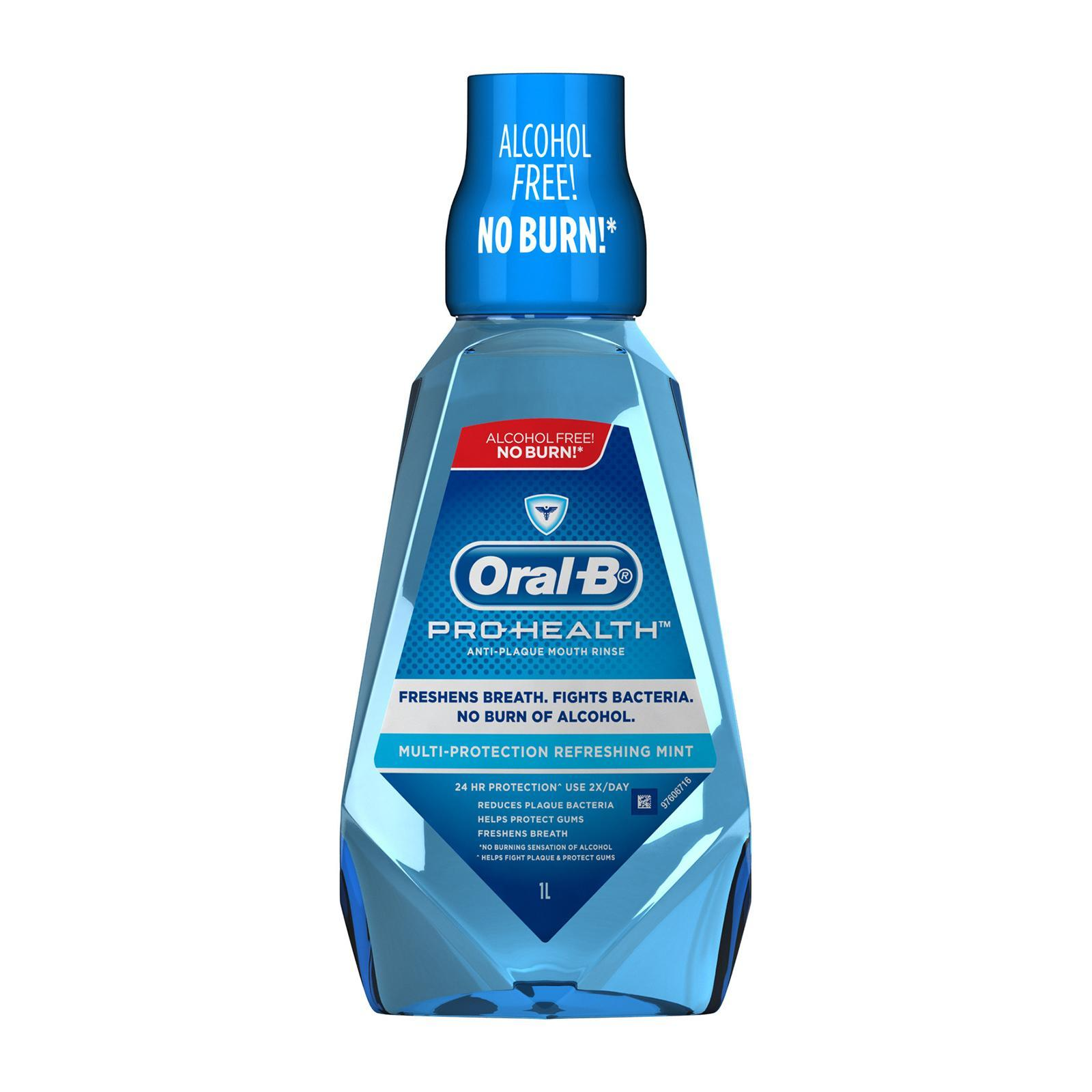 Oral-B Pro-Health Multi Protection Mouth Rinse - Refreshing Mint