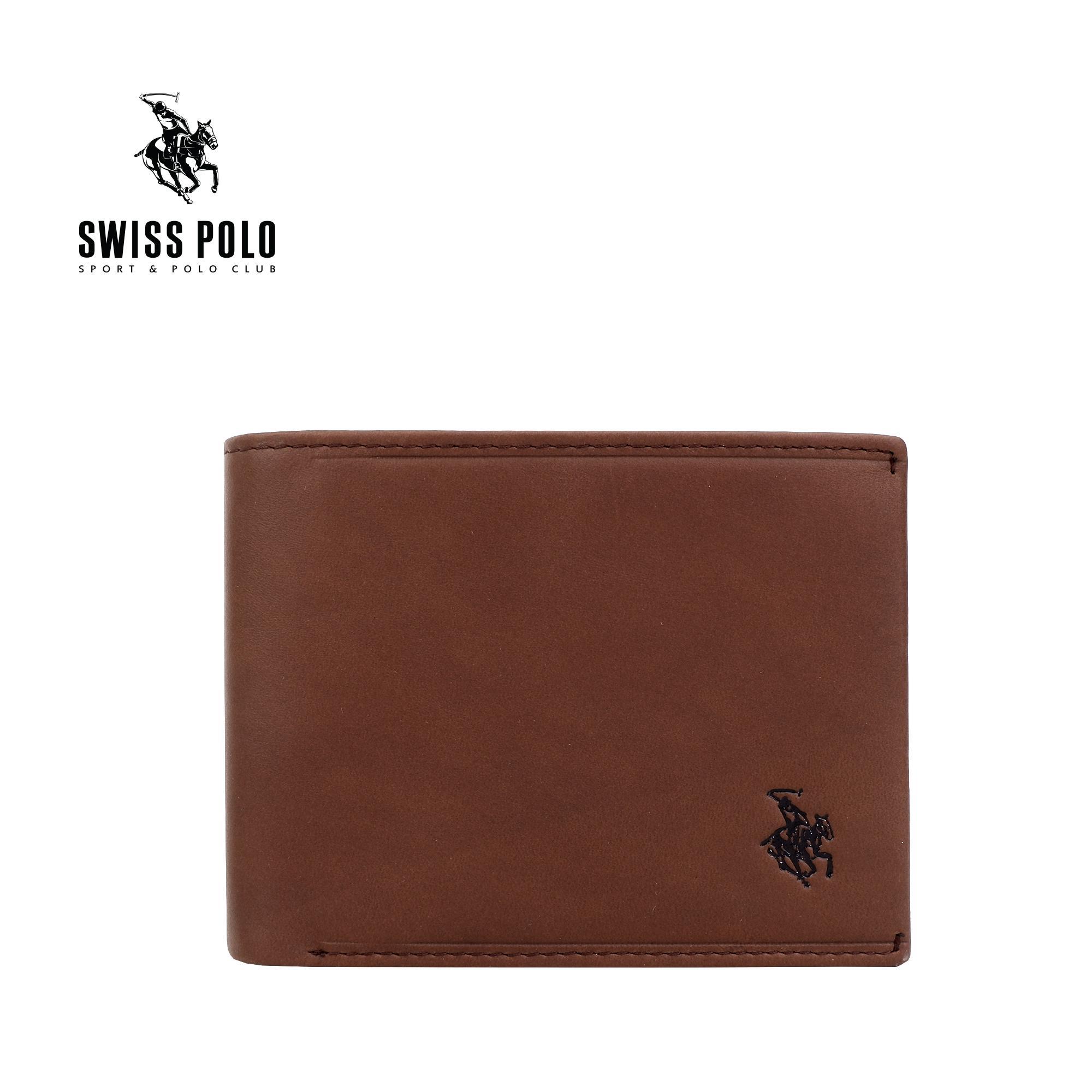 SWISS POLO G.L WALLET SW 136-2 BROWN
