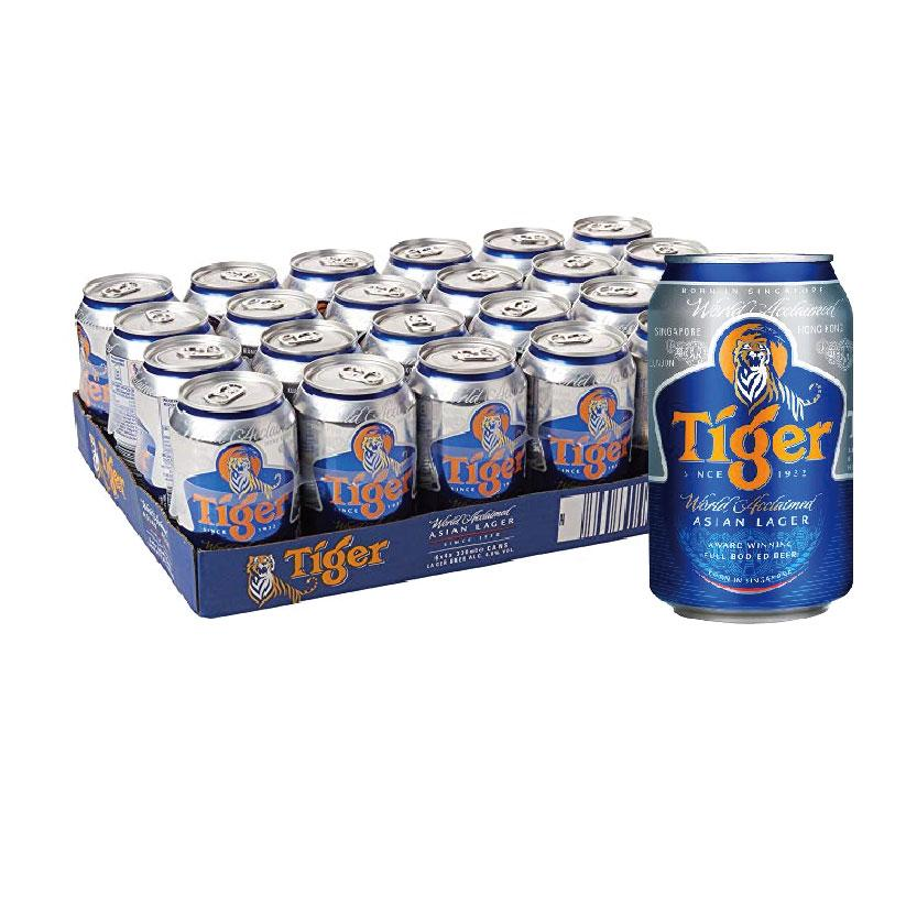 Tiger Beer 24x330ml Cans Carton Deal (24x330ml) By Chaphediam.