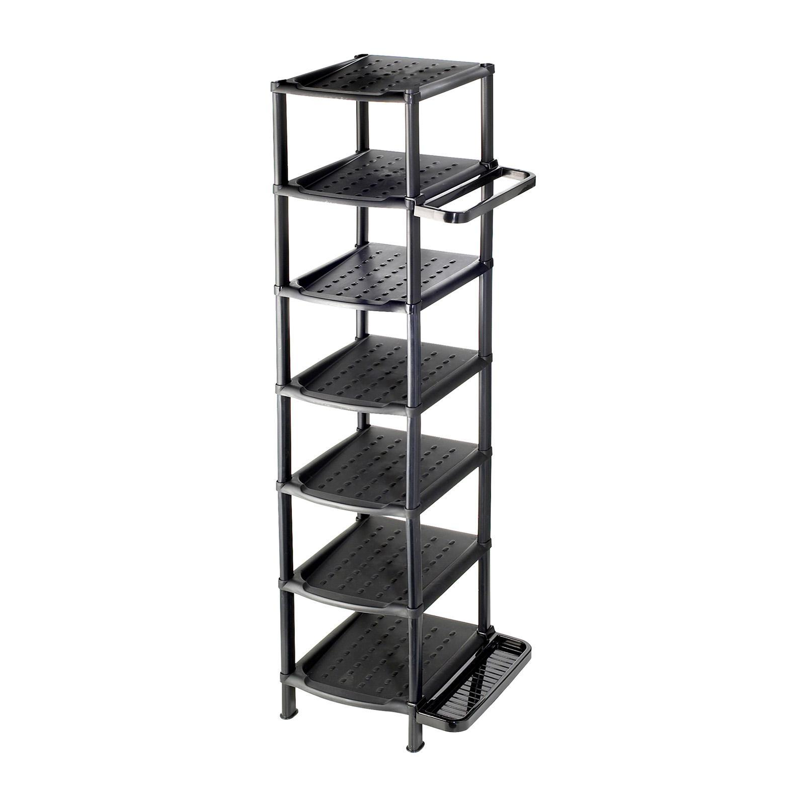 ALGO Multi Shoe Rack 7 Tier W/ Umbrella Holder