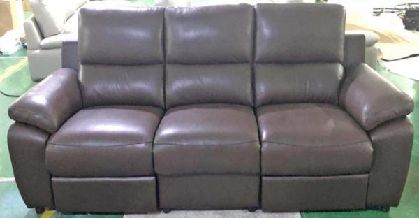 Gemini SFLP888 WC 3 Seaters Half Leather Sofa Set