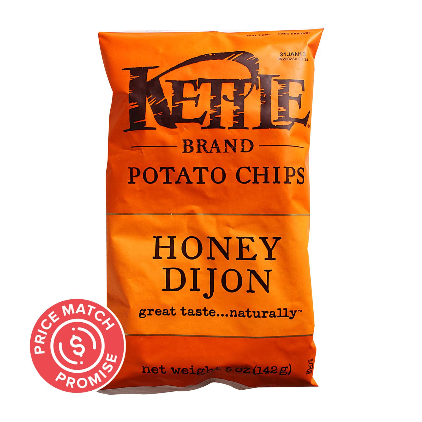Kettle Brand Potato Chips - Honey Dijon