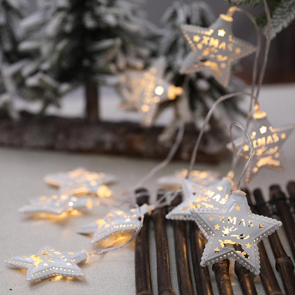 Bảng giá ❄️Trang Trí Giáng Sinh❄️ Đèn Dây LED Màu Sắc Ấm Áp Đồ Treo Cây Giáng Sinh Bố Trí Cảnh Quan Đồ Trang Trí Cửa Sổ Cửa Hàng