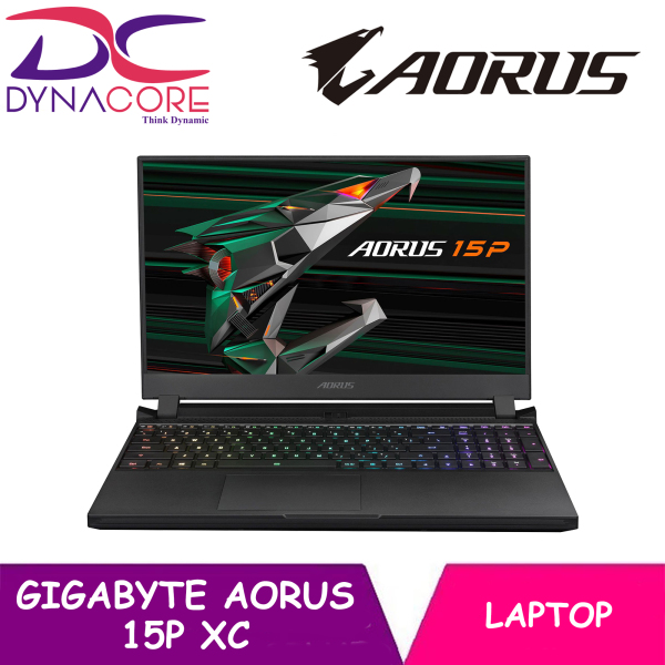 DYNACORE - Gigabyte AORUS 15P XC 15.6 Nvidia GeForce RTX 3070 Gaming Laptop (FHD/240Hz/IPS-Level/i7-10870H/32GB DDR4/512GB NVMe SSD/8GB RTX 3070/Win10 Home)