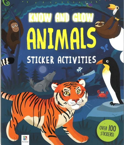 Know and Glow: Animals- teaches young readers about the world's animals, great and small. Learning is made fun with heaps of activities and loads of truly fascinating facts about the world's animals and their habitats!