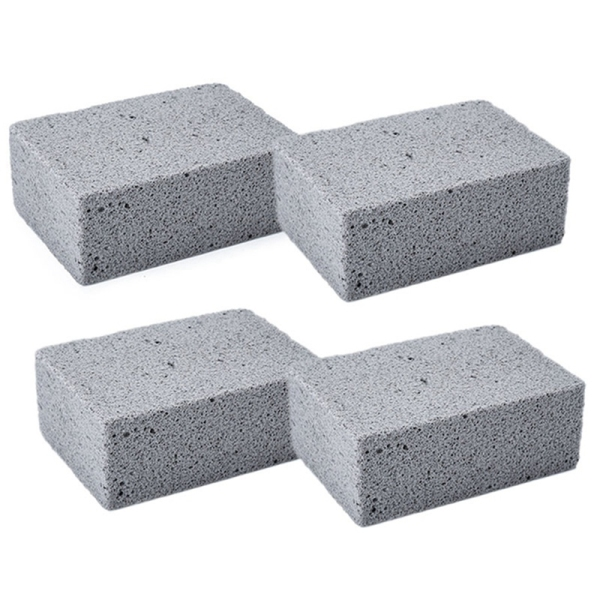 Giá 4 Grill Griddle Stone Cleaning Bricks Large Suitable for BBQ & Kitchen Cleaning