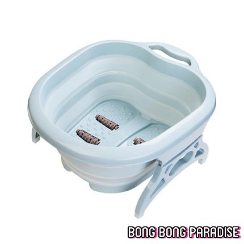 Buy Foldable Foot Spa Massager Bucket / Collapsible Foot Bath Basin / Chinese Herbal Detox Foot bath / Foot Reflexology Singapore