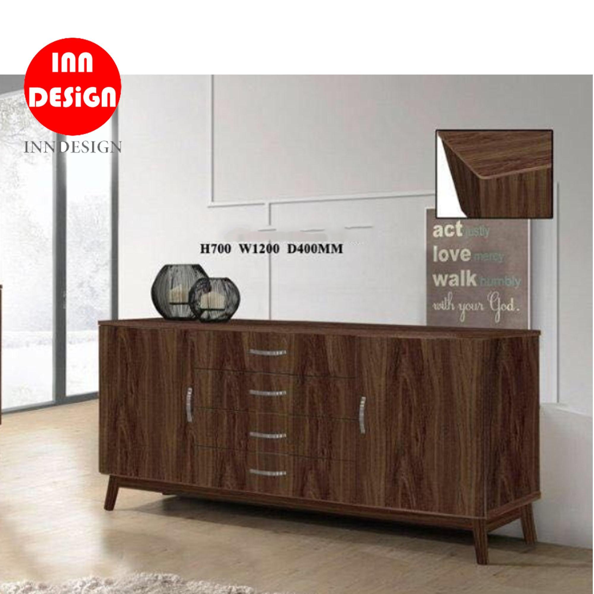 Rowena II Sideboard / Buffet Hutch / Cabinet (Free Installation)