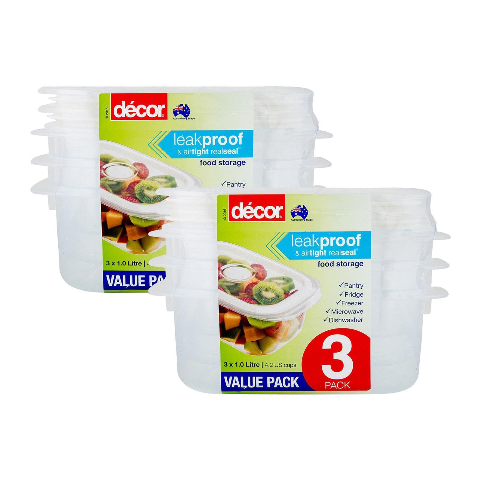 Decor Realseal Obl 1L 3 PCS Set