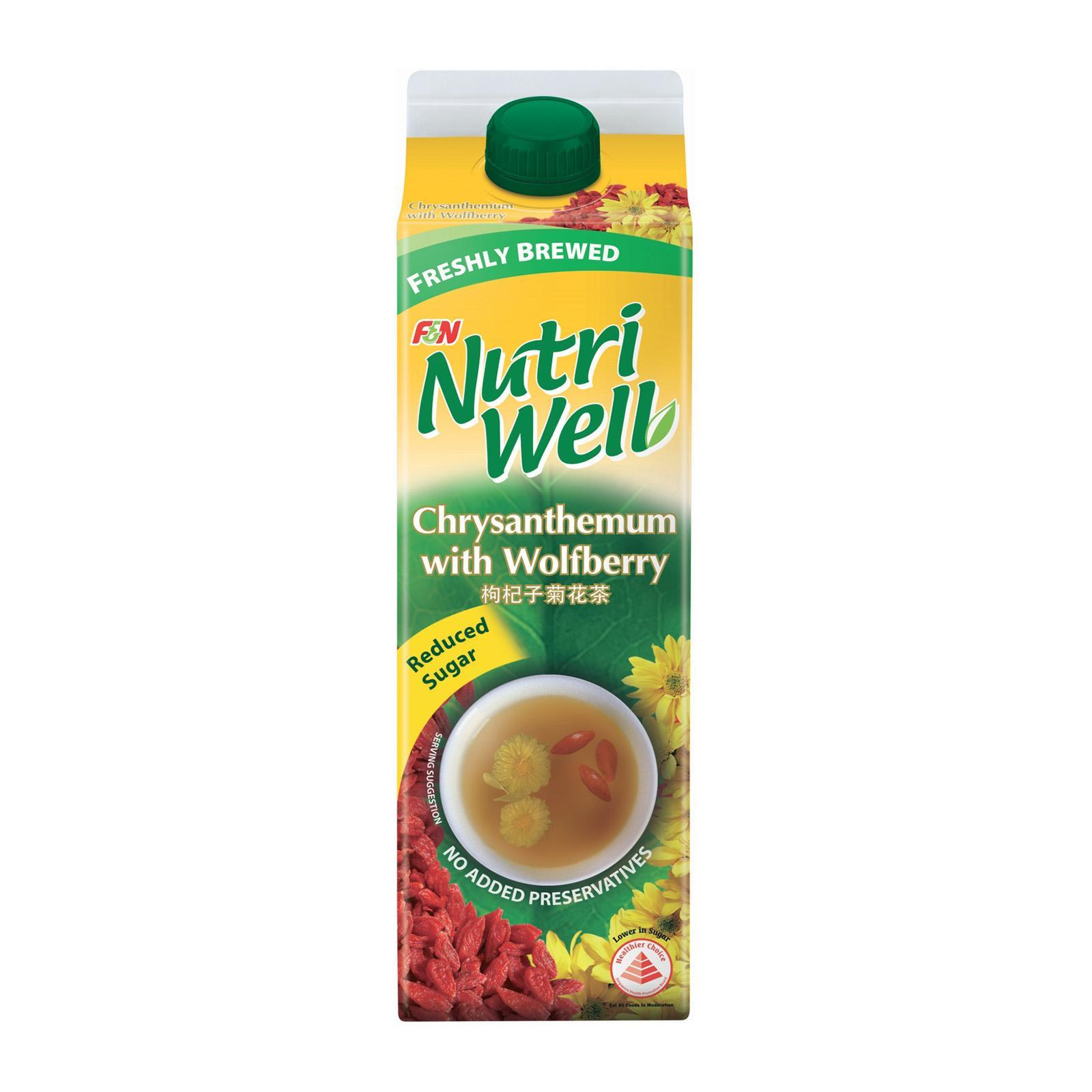 Nutriwell Chrysanthemum With Wolfberry By Redmart.