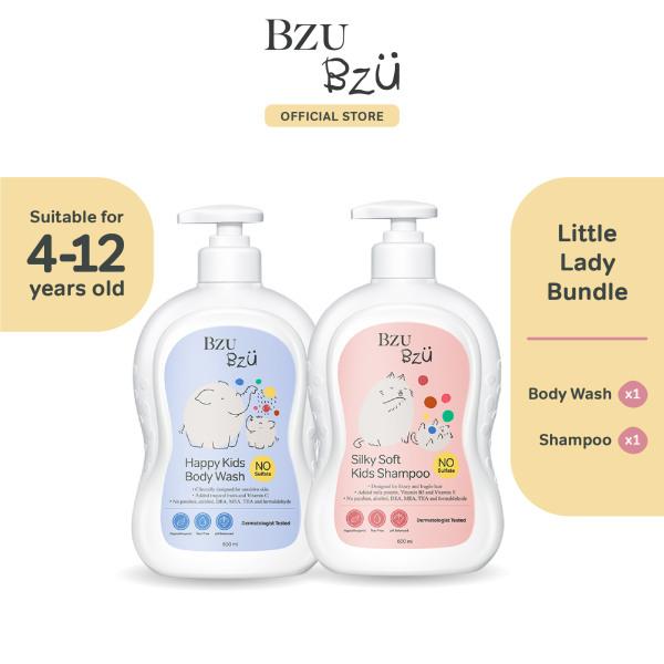 Buy BZU BZU Little Lady Bundle (Silky Soft Kids Shampoo + Body Wash) Singapore
