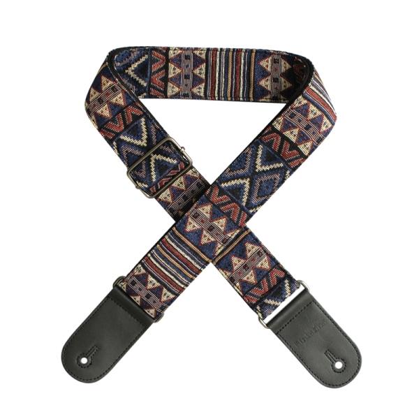 Flanger Comfortable Adjustable Guitar Strap Shoulder Strap Synthetic Ends For Acoustic Folk Classic Electric Guitars Bass