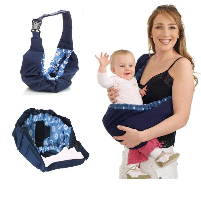 Newborn Baby Infant Toddler Cradle Pouch Ring Sling Carrier Kid Wrap Bag Sea Lace - Intl By Yw Store.