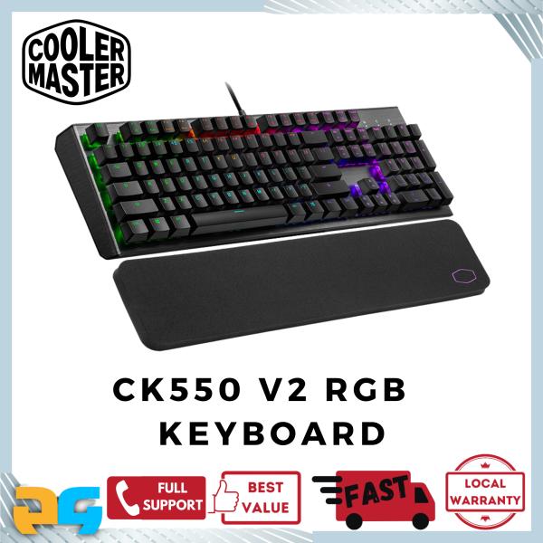 Cooler Master CK550 v2 RGB Mechanical Gaming Keyboard Singapore