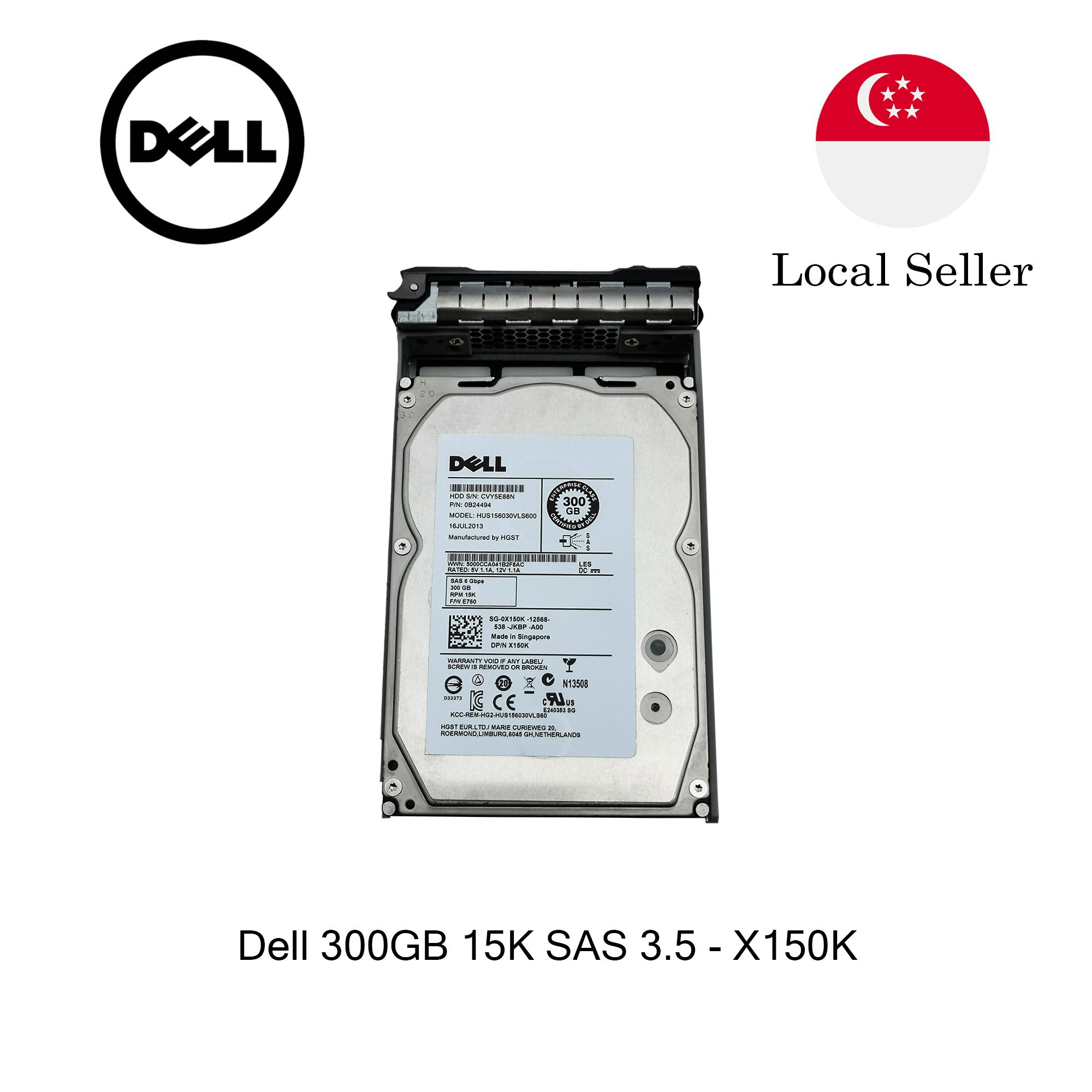 """DELL TRCN6 600GB SAS HD 2.5/"""" 12Gbps 15K RPM MODEL HUC156060CSS204 TRCN6"""