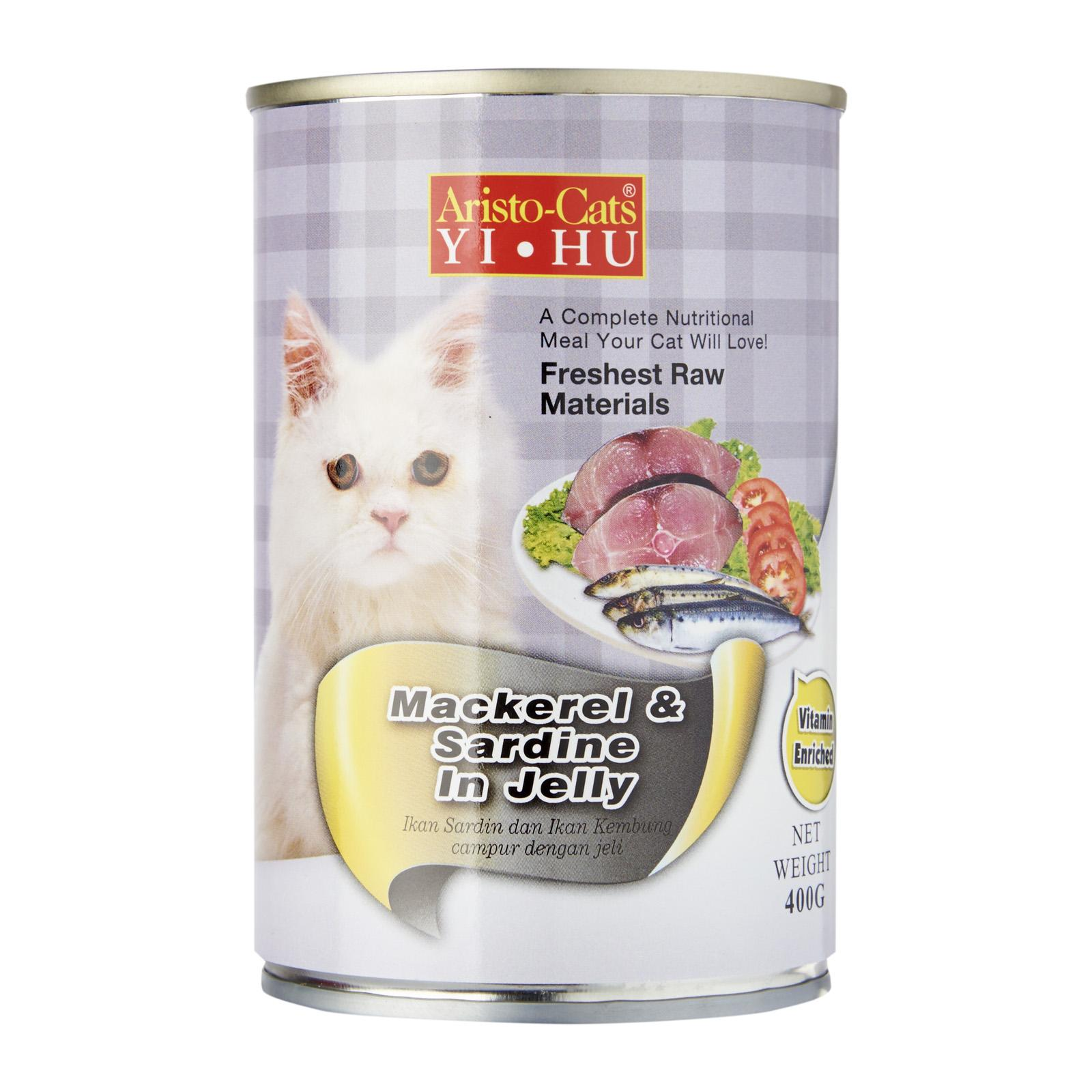 Aristo-Cats Yi Hu Mackerel And Sardine In Jelly Wet Cat Food