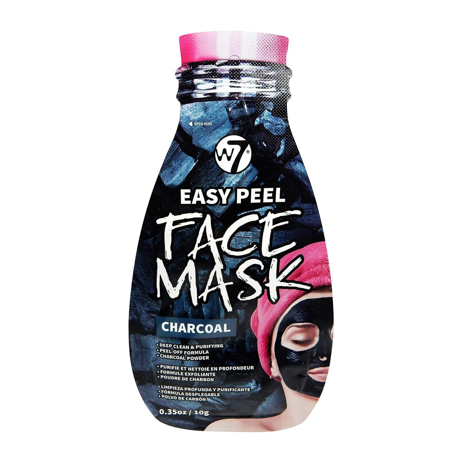 W7 Cosmetics Easy Peel Charcoal Face Mask