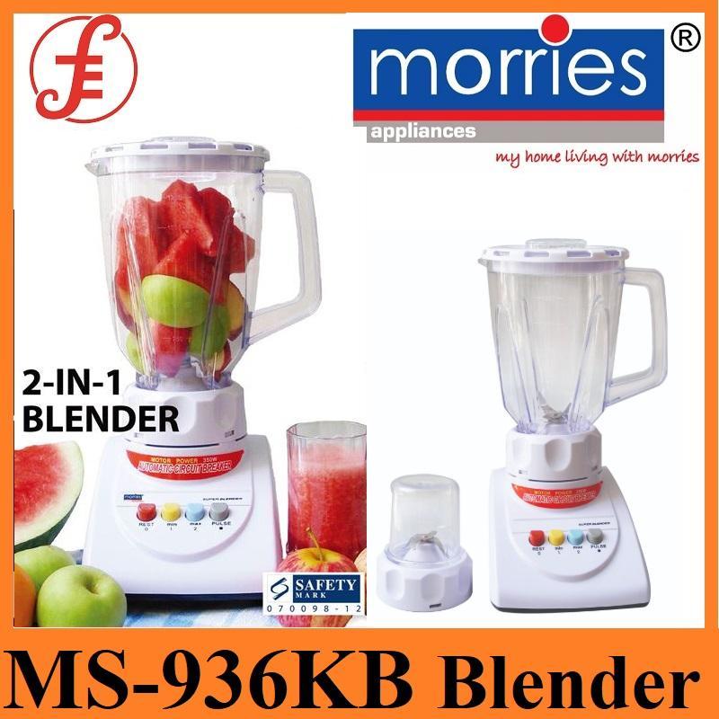 Morries Ms-936kb (ms-936) Plastic Jar 1.5 Litres Blender By Fepl.