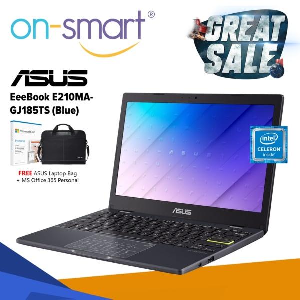 ASUS EeeBook E210MA-GJ185TS | Intel Celeron N4020 | 4GB RAM | 128GB Storage | 11.6 inch HD Display | New Student Cheap Laptop Computer