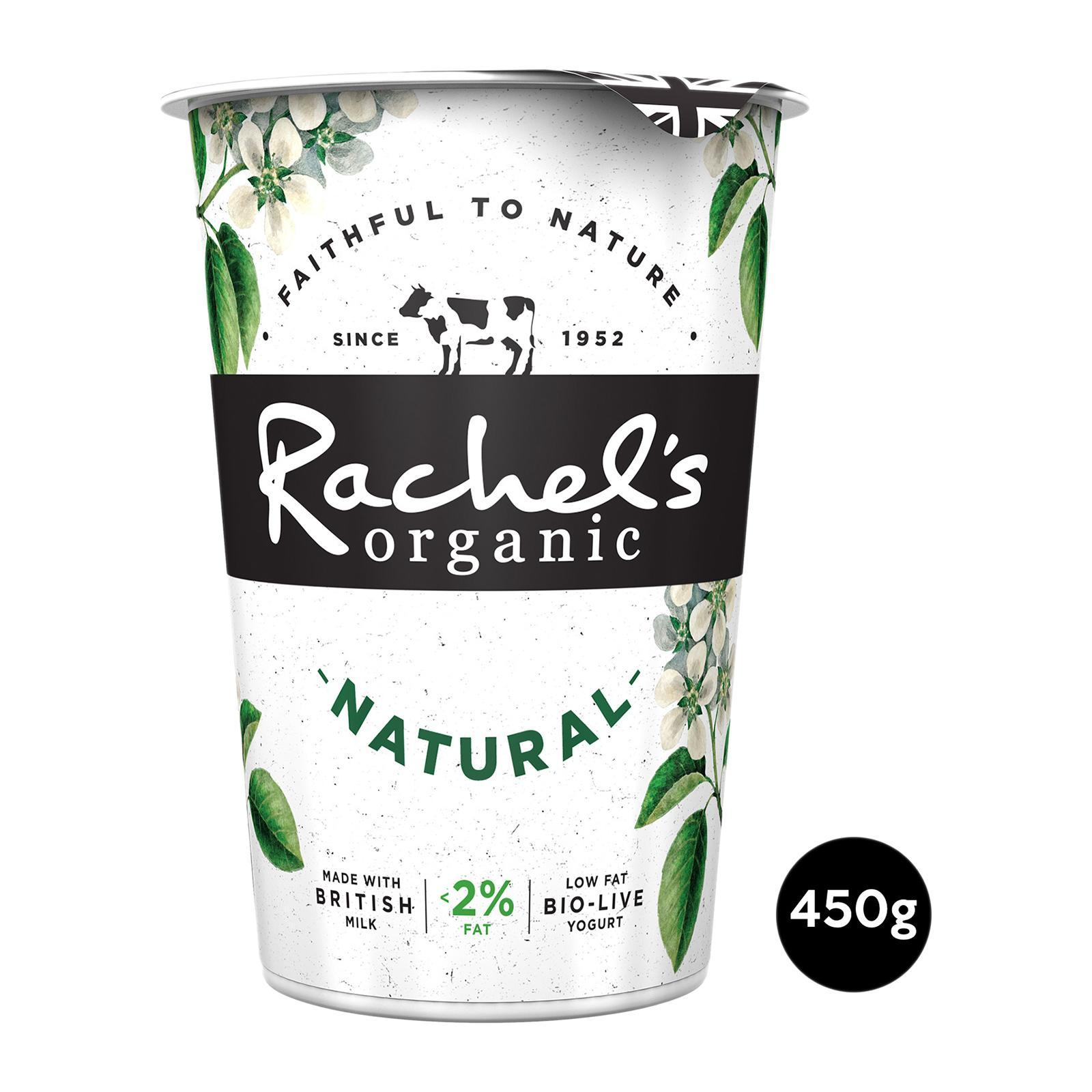 Rachel's Organic Low Fat Natural Bio-Live Yoghurt
