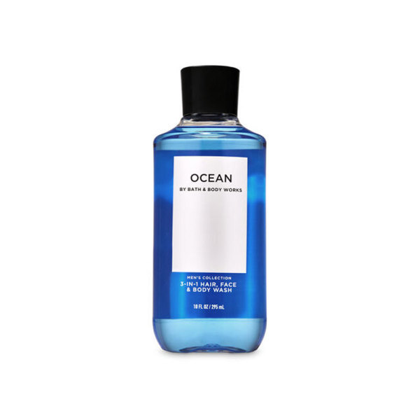 Buy Bath & Body Works : MENS COLLECTION : Ocean 3-in-1 Hair, Face and Body Wash - 295ml - Bath and Bodyworks - BBW Singapore