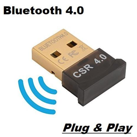 USB 4.0 Bluetooth Dongle 20m Adapter Receiver for PC/Laptop Windows System