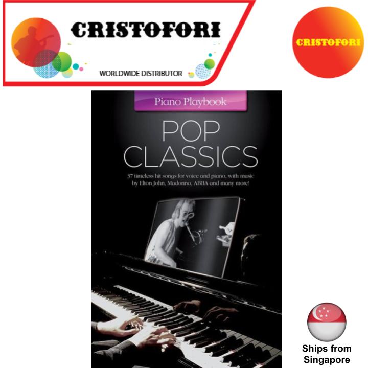 Piano Play Book: Pop Classics