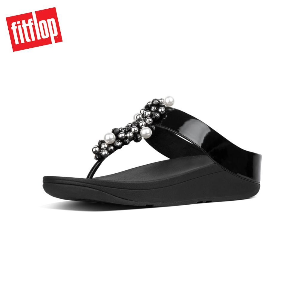 0be13911c0aeed Fitflop™ Deco Black Women Wedges Sandal
