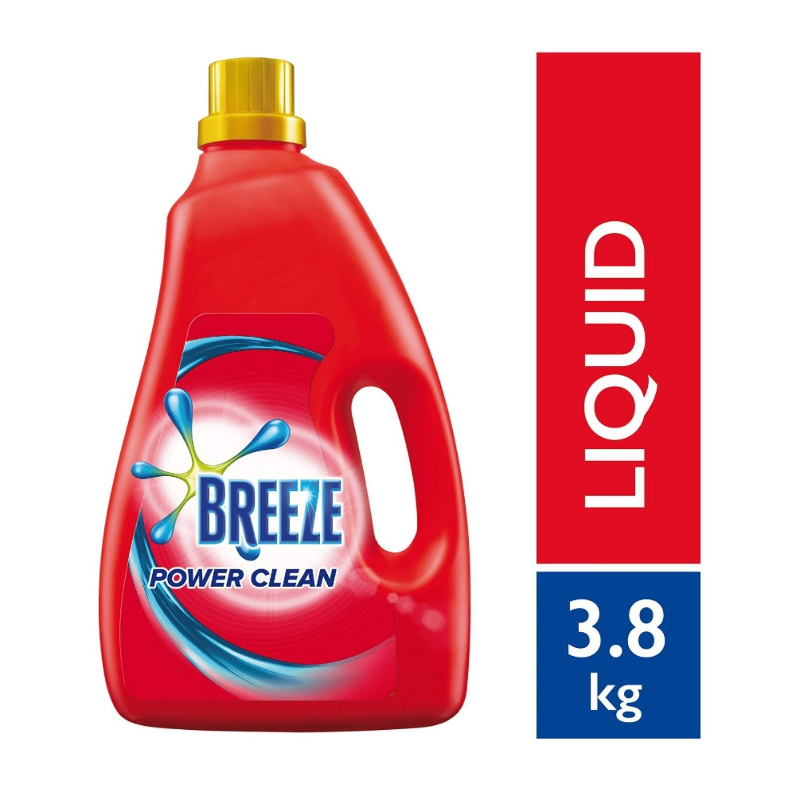 BREEZE Liquid Detergent Power Clean 4kg