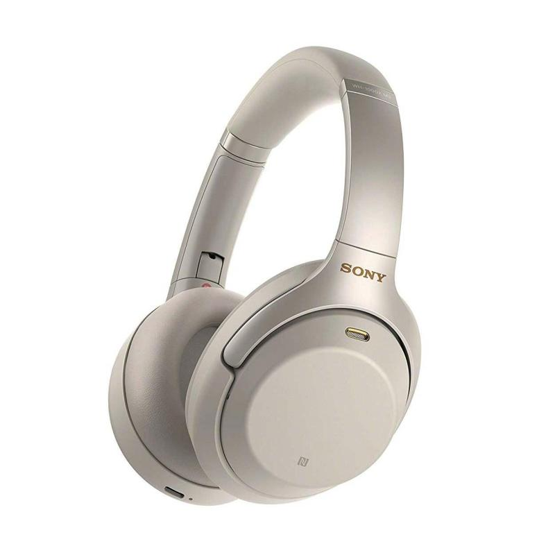 Sony Noise Cancelling Headphones WH1000Xm3 Wireless Bluetooth Over the Ear Headphones with Mic WH-1000Xm3 Singapore