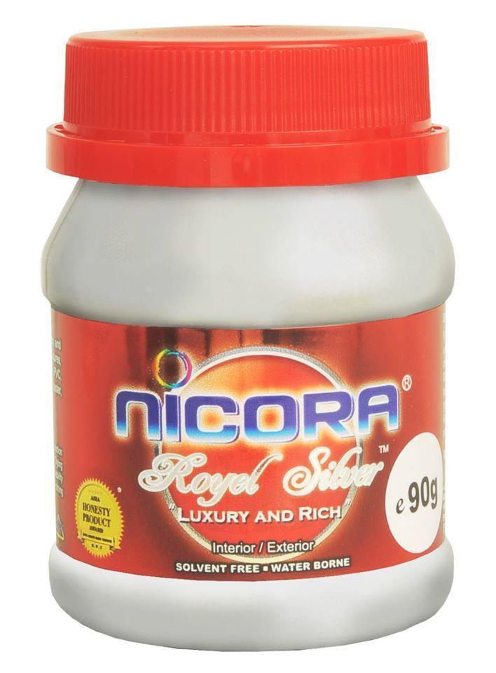 Nicora Royal Silver Paint 90g / 250g