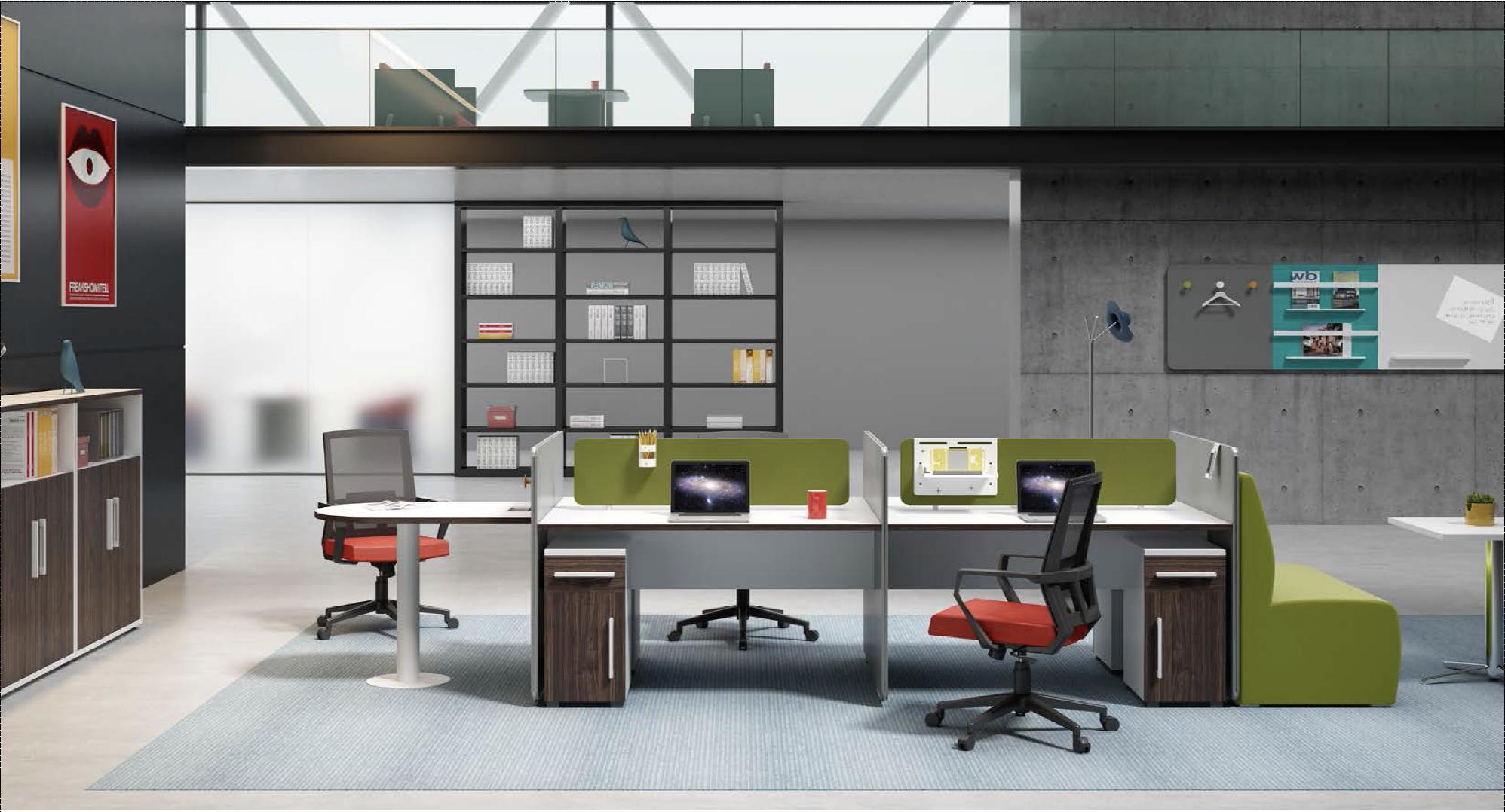 office furniture - green theme