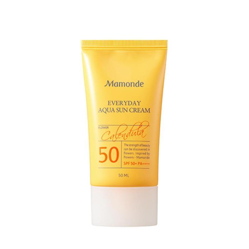 Buy MAMONDE Calendula Everyday Sun Cream SPF50PA+++ 50ml Singapore