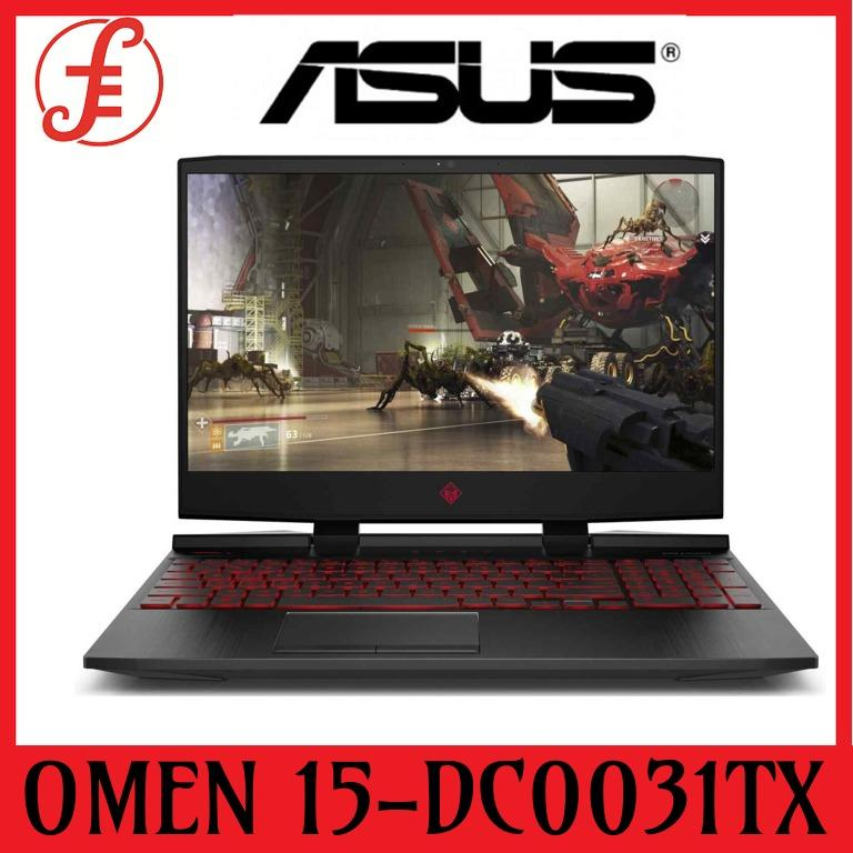 HP OMEN 15-dc0031tx (4NL27PA) 15.6 IN INTEL CORE I7-8750H 8GB 1TB 256SSD GTX 1060 (6 GB GDDR5 dedicated) Gaming Laptop (15-DC0031TX)