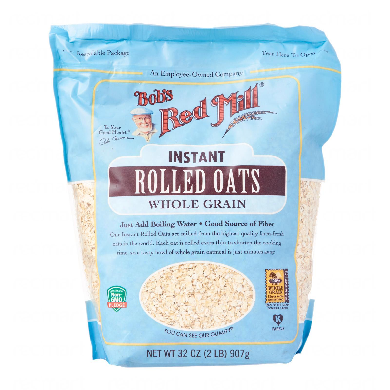 Bob's Red Mill Whole Grain Instant Rolled Oats