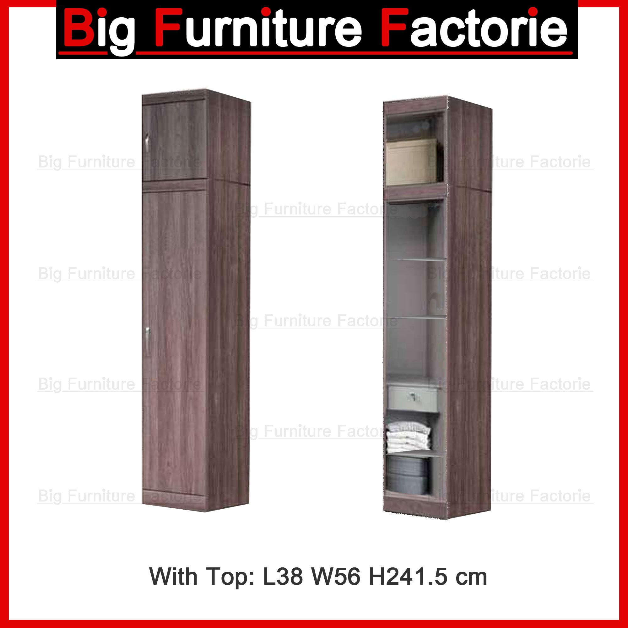 BFF-A6A One Door Wardrobe With Top