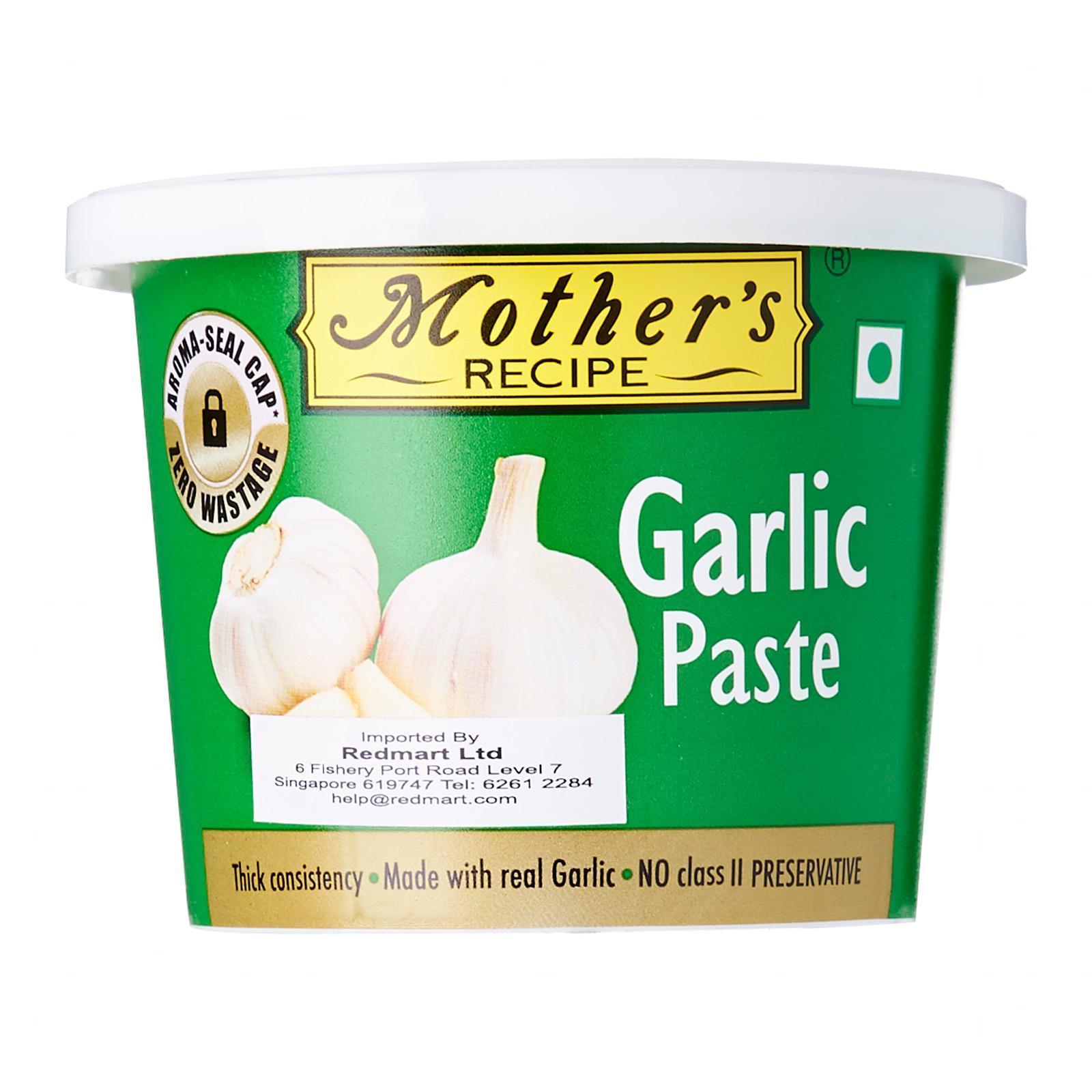 Mothers Garlic Paste